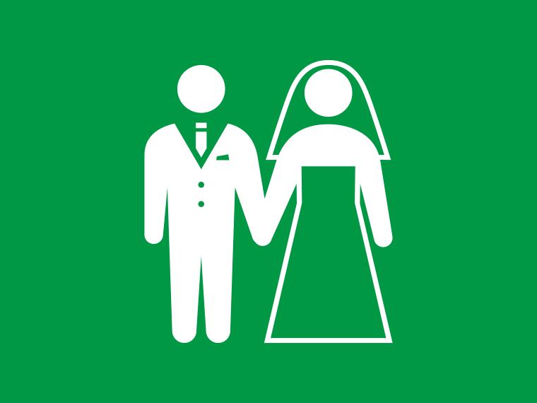 おめでとう! 結婚お祝いプログラム
